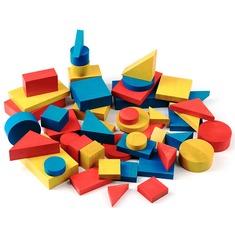 Логические блоки Дьениша А378 Komarovtoys 48 деталей