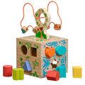 Логический кубик Д014 Игрушки из дерева 12 деталей