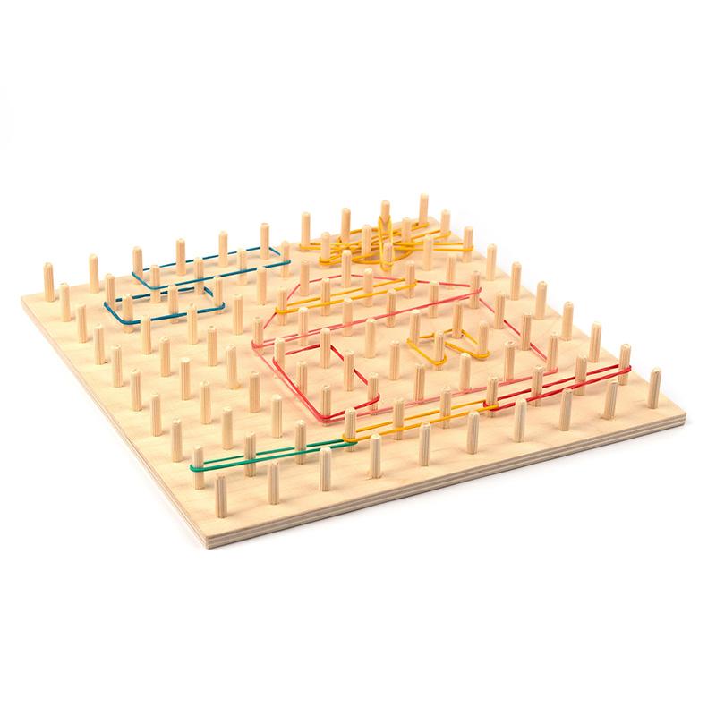Геоборд, математический учебный планшет 30 см Komarovtoys