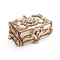 Механические 3D пазлы UGEARS Антикварная шкатулка 70089 (185 деталей)
