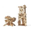 Механические 3D пазлы UGEARS Башня-Аркбаллиста 70048 (292 детали)