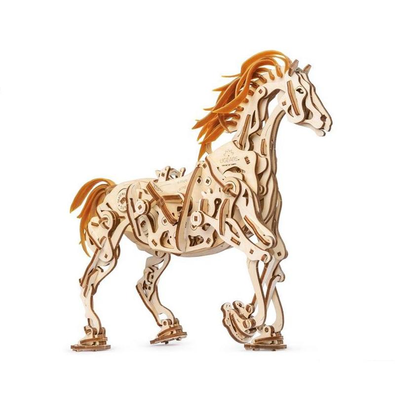 Механические 3D пазлы UGEARS Конь Механоид 70054 (410 деталей)