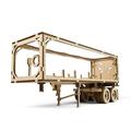 Механические 3D пазлы UGEARS Полуприцеп к модели «Тягач VM-03» 70057 (138 деталей)