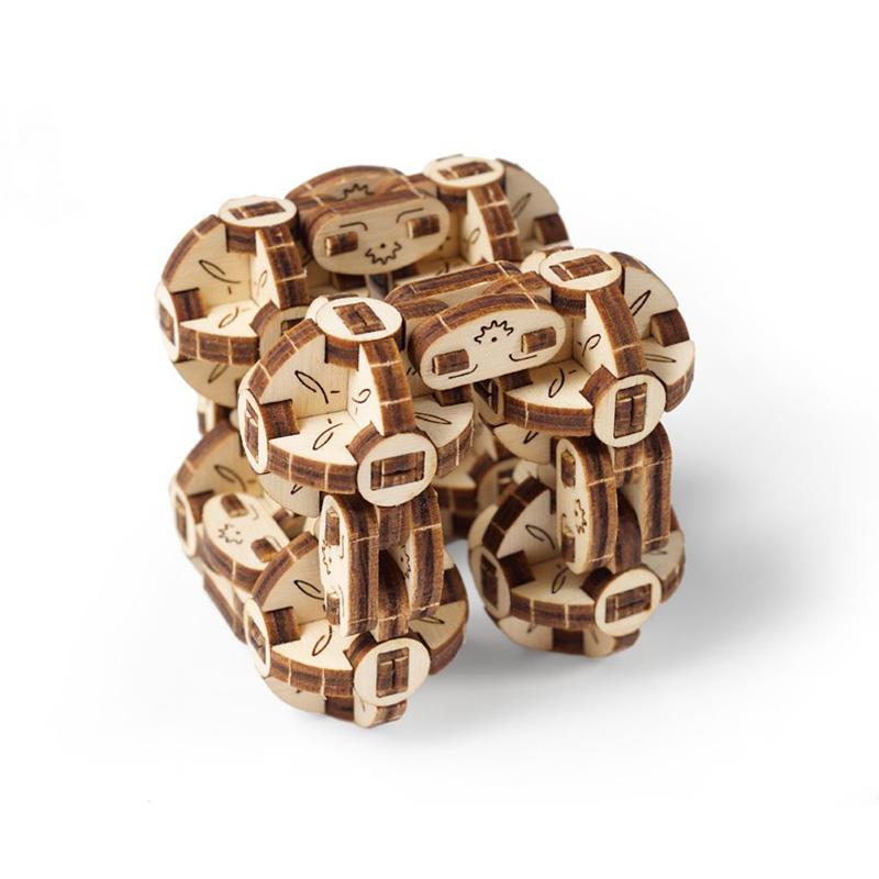 Механические 3D пазлы UGEARS Сферокуб 70049 (144 детали)