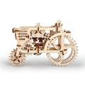 Механические 3D пазлы UGEARS Трактор 70003 (97 деталей)
