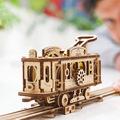 Механические 3D пазлы UGEARS Трамвайная линия 70028 (284 детали)