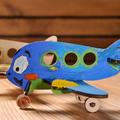 Модели раскраски UGEARS Аэроплан 20002 (15 деталей)