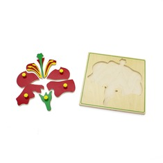 "Мозаика ""Цветок"" 1447 Lam Toys (8 деталей)"