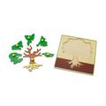 """Мозаика """"Дерево и его части"""" 1446 Lam Toys 10 деталей"""