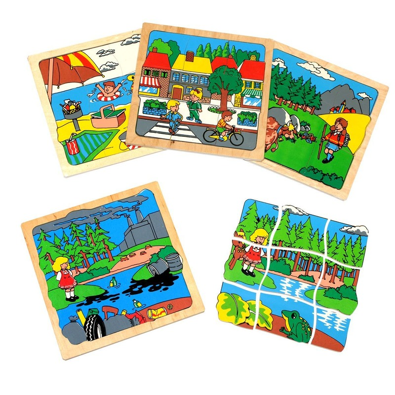 "Мозаика ""Экология"" Lam Toys (36 деталей)"