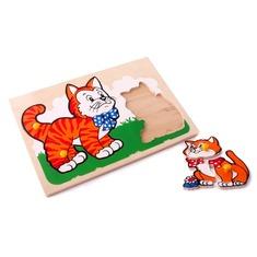 "Мозаика ""Кот и котенок"" 1407 Lam Toys (9 деталей)"