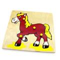 """Мозаика """"Лошадка"""" 1006 Lam Toys (5 деталей)"""