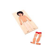 """Мозаика """"Маленький мальчик"""" 1026 Lam Toys (15 деталей)"""