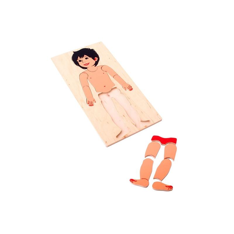 """Мозаика """"Маленький мальчик"""" Lam Toys (15 деталей)"""