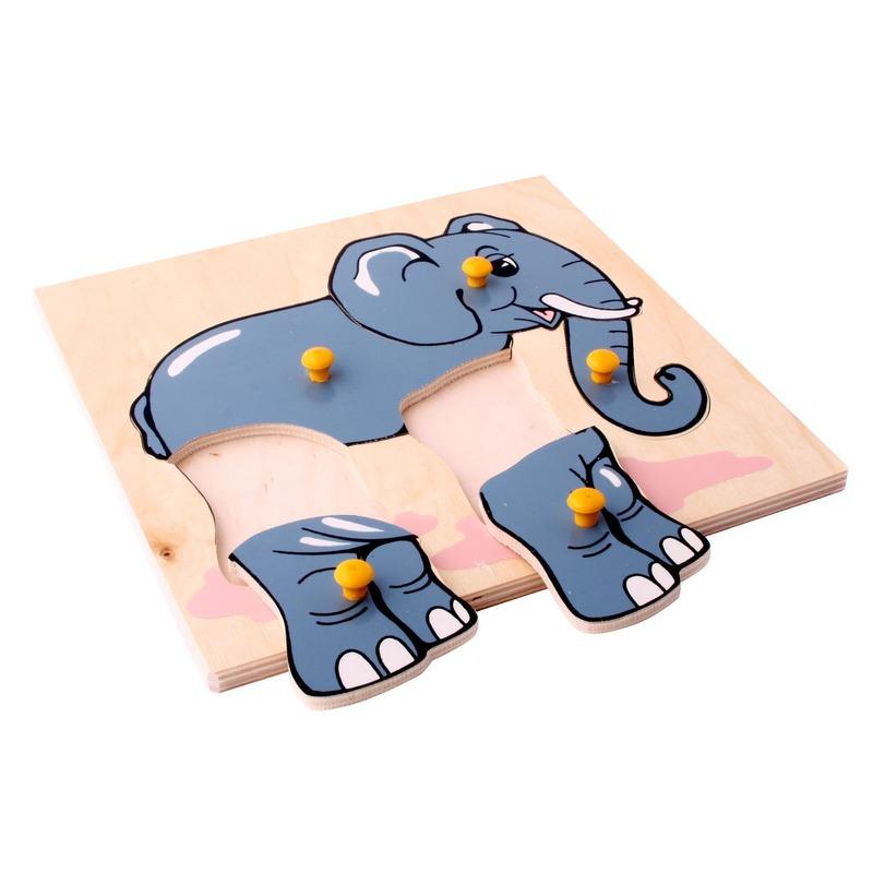 "Мозаика ""Слон"" Lam Toys (5 деталей)"