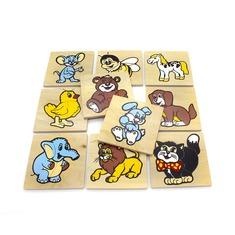 Набор детских мозаик Забавные животные 1480 Lam Toys (50 деталей)