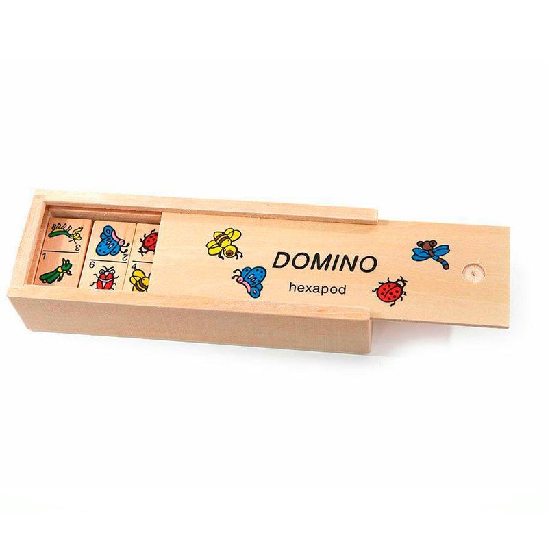 Набор Домино Природа Игрушки из дерева