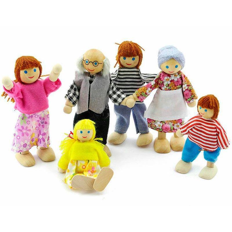 Набор Сказочных кукол Игрушки из дерева