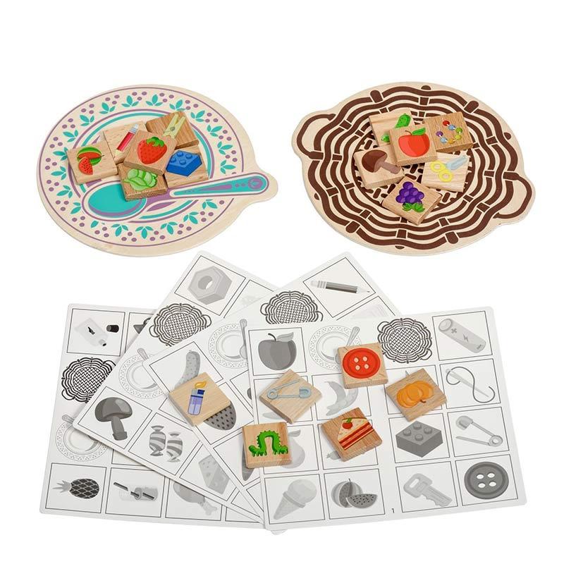 Настольная игра «Съедобное-несъедобное» LL176 Lucy & Leo (30 деталей)