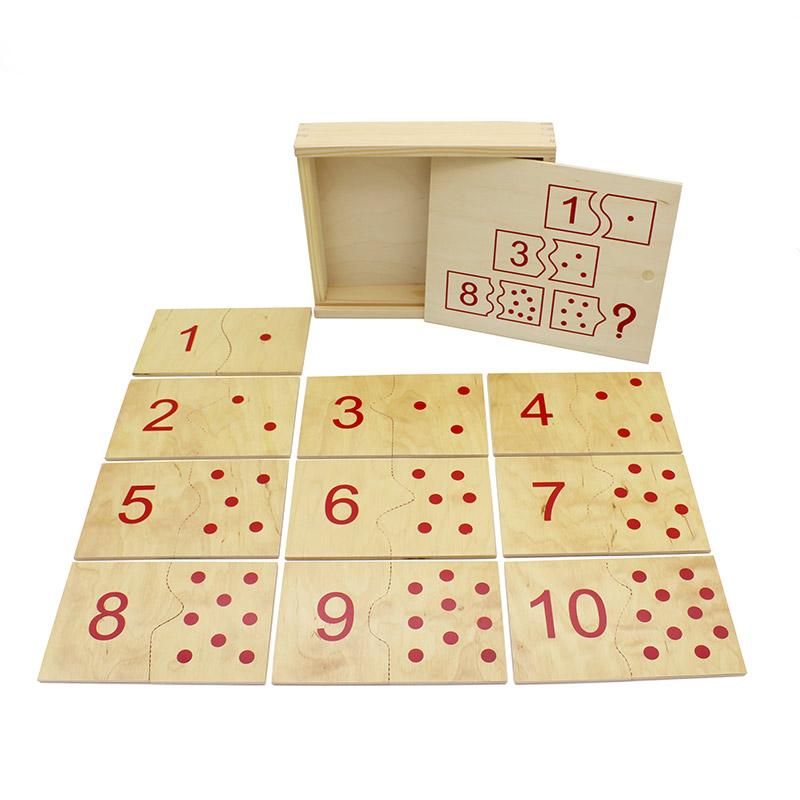 """Настольная игра домино """"Числа и цифры"""" математика 1508 Lam Toys (20 деталей)"""