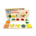 """Настольная игра домино """"Геометрия"""" 5009 Lam Toys (20 деталей)"""
