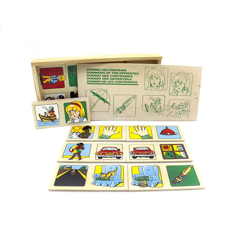 """Настольная игра домино """"Противоположности"""" 1504 Lam Toys (20 деталей)"""