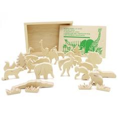 Играем в зоопарк: объемные фигуры 5000 Lam Toys 24 детали