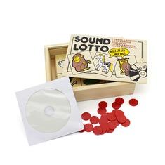 """Настольная игра лото """"Животные"""" 1601 Lam Toys (4 детали + диск)"""
