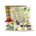 """Настольная игра лото """"Звуки окружающего мира"""" 1603 Lam Toys (4 детали + диск)"""