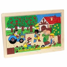 Пазл Ферма 1308 Lam Toys (40 деталей)
