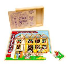 """Пазл """"Строительство"""" 1433 Lam Toys (25 деталей)"""