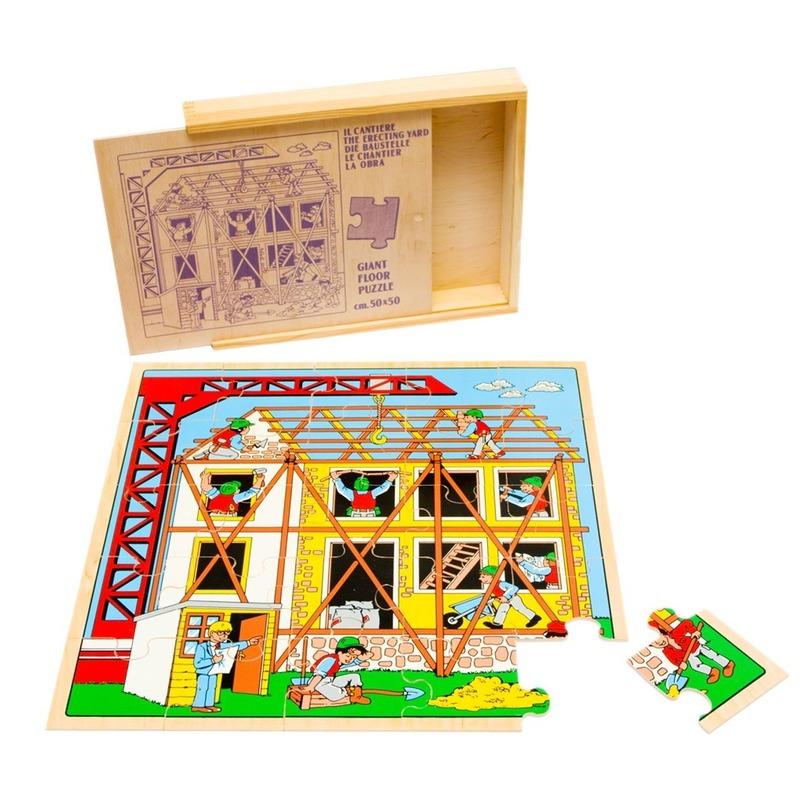 """Пазл """"Строительство"""" Lam Toys (25 деталей)"""