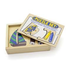 """Пазл """"Цветные карандаши"""" 1416 Lam Toys (16 деталей)"""