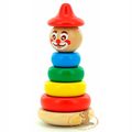 Пирамидка Клоун 4 Бомик 7 деталей