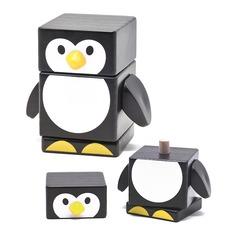 Пирамидка Пингвин 809 Бомик 3 детали