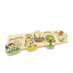 "Рамка-вкладыши ""Ферма"" 1477 Lam Toys (5 деталей)"