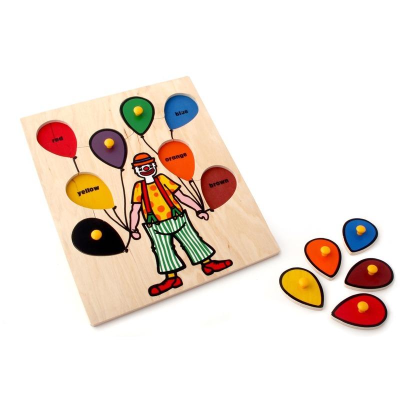 "Рамка-вкладыши ""Клоун"" Lam Toys (8 деталей)"