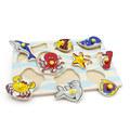 """Рамка-вкладыши """"Морские животные"""" 1405 Lam Toys (9 деталей)"""
