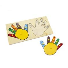 "Рамка-вкладыши ""Руки математика"" 5001 Lam Toys (12 деталей)"