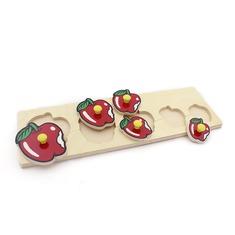 """Рамка-вкладыши """"Яблоки"""" 1470 Lam Toys (5 деталей)"""