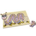 Рамка-вкладыши Гусеница - украинский алфавит 5017 Lam Toys (35 деталей)