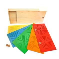 Развивающий планшет-лабиринт Тандем Доски 1530 Lam Toys (9 деталей)