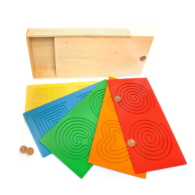 Развивающий планшет-лабиринт Тандем Доски 1530 Lam Toys (10 деталей)