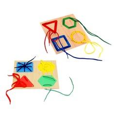 """Шнуровка """"Геометрия"""" 1031 Lam Toys Lam Toys (4 детали)"""