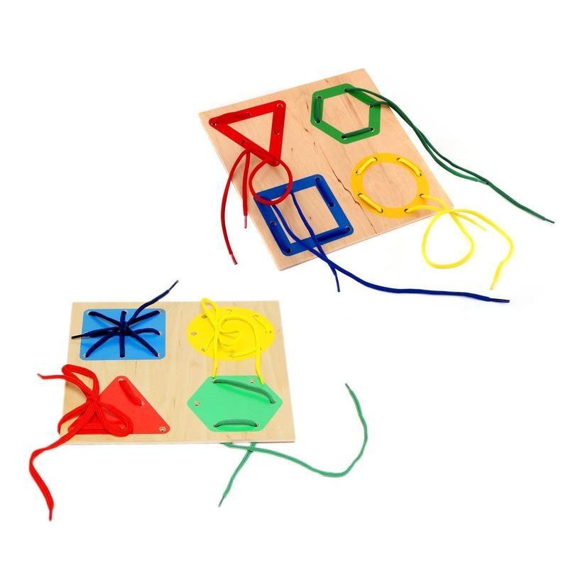 """Шнуровка """"Геометрия"""" Lam Toys Lam Toys (4 детали)"""