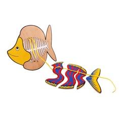 """Шнуровка """"Рыба"""" 1463 Lam Toys (4 детали)"""