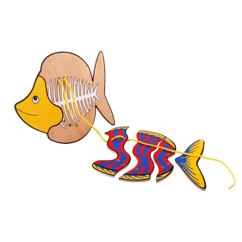 """Шнуровка """"Рыба"""" Lam Toys (4 детали)"""