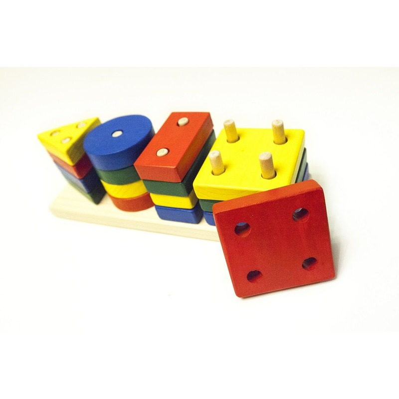 "Сортер ""Геометрик"" Woodentoys (16 деталей)"
