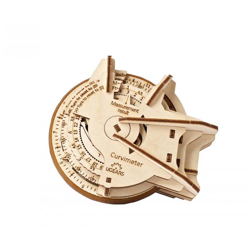 Деревянній конструктор STEM lab Курвиметр UGEARS 70138 (109 деталей)