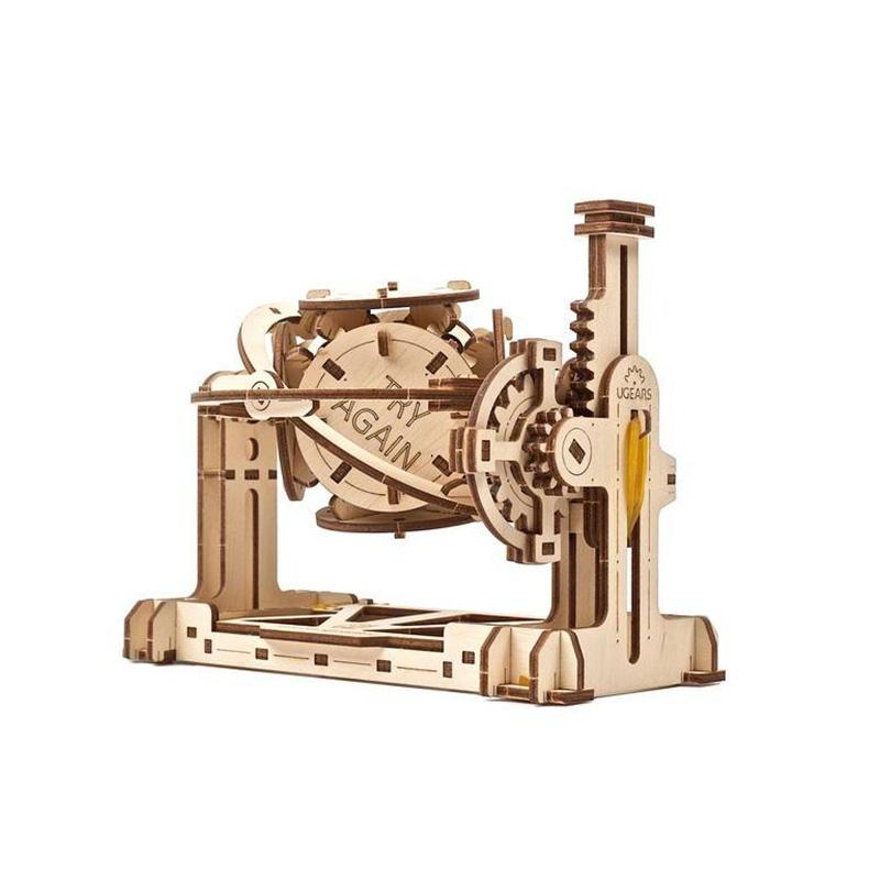 Механический конструктор STEM lab Рандомайзер 70146 UGEARS (160 деталей)